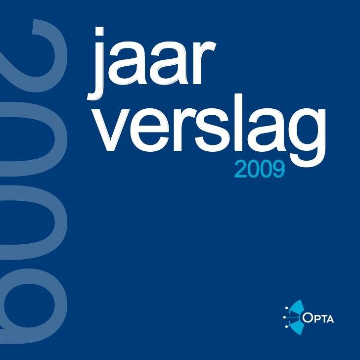 jaar verslag     2009