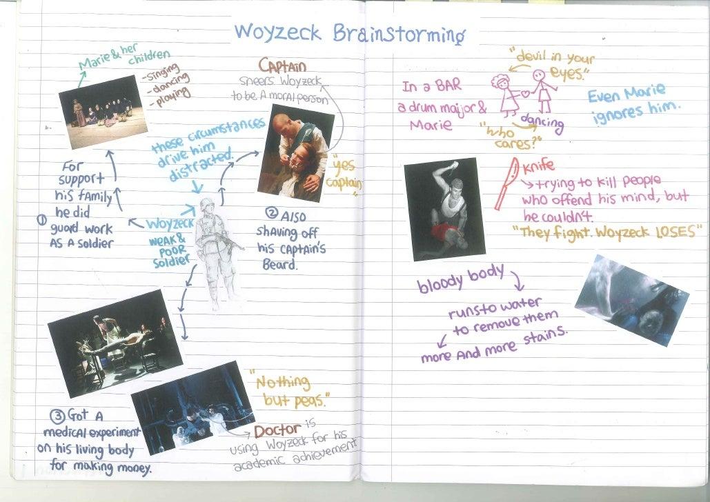 Brainstorming Stage ideas