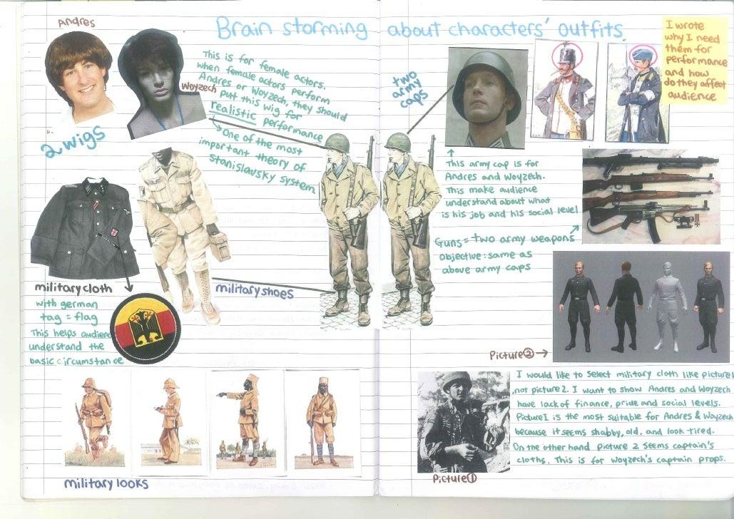 Brainstorming costume ideas