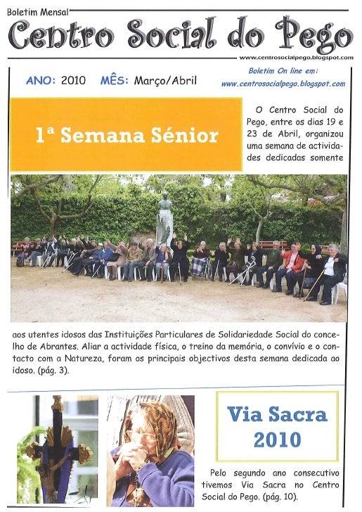 Boletim Março/Abril 2010