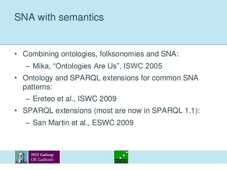 Semantic social networks<br />Using semantics in the analysis of social networks and social websites<br />