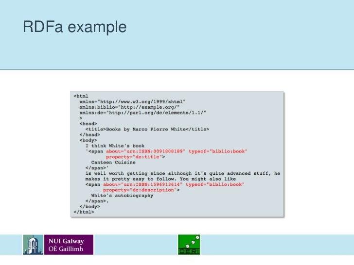 RDFa example<br />