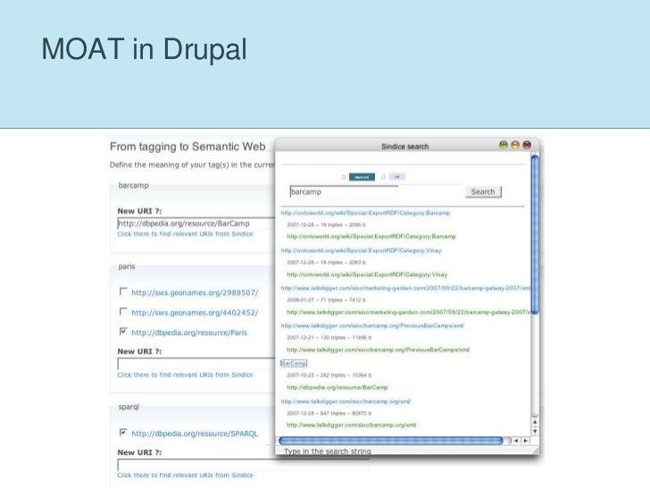 MOAT in Drupal<br />