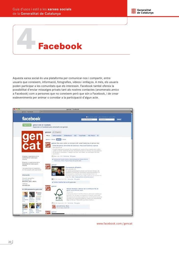 Guia d'usos i estil a les xarxes socials                                                     de la Generalitat de Cataluny...