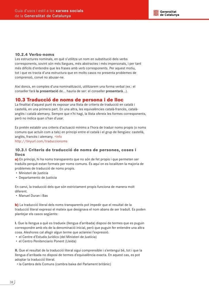 Guia d'usos i estil a les xarxes socials                                                      de la Generalitat de Catalun...