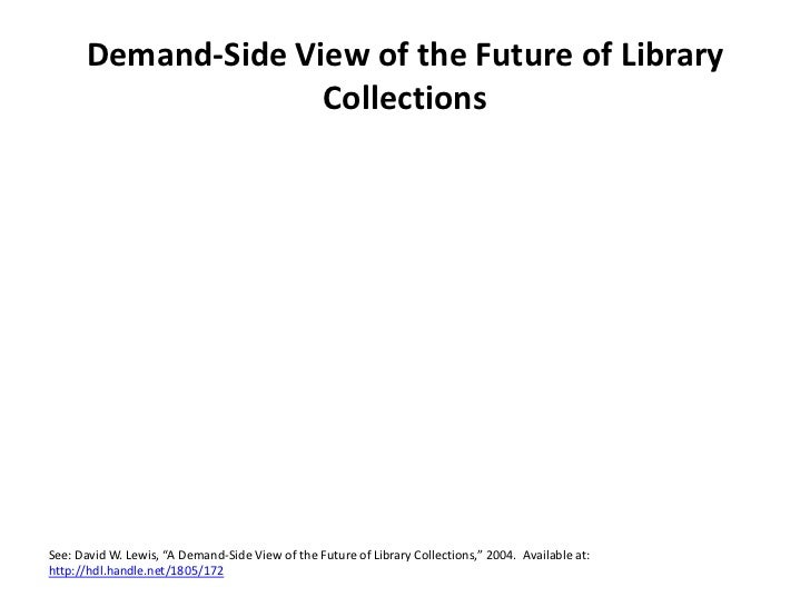 Collections Futures