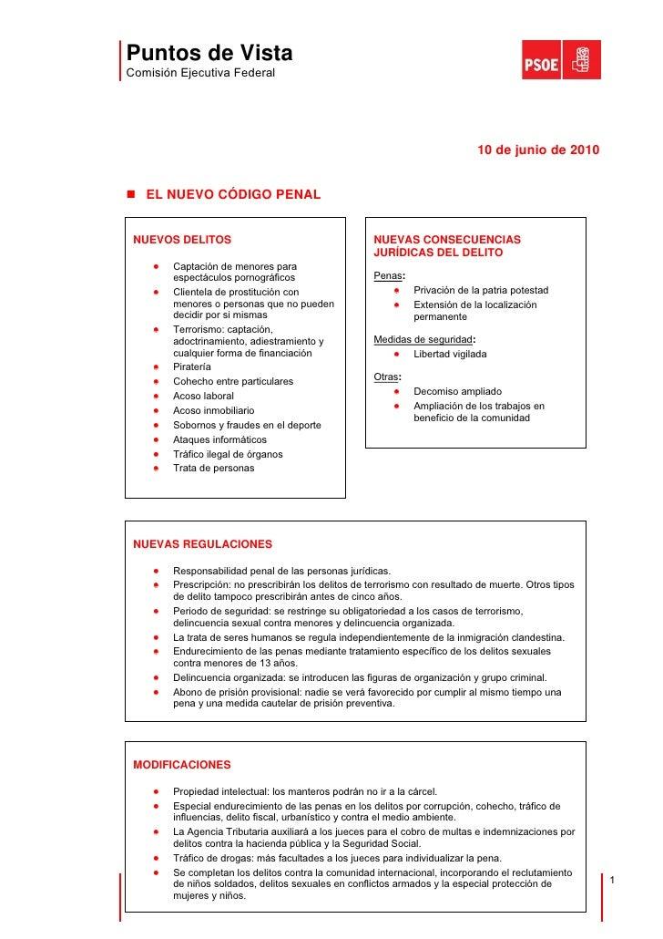 Puntos de Vista Comisión Ejecutiva Federal                                                                                ...