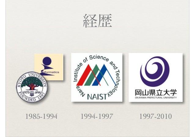 経歴 1985-1994 1994-1997 1997-2010