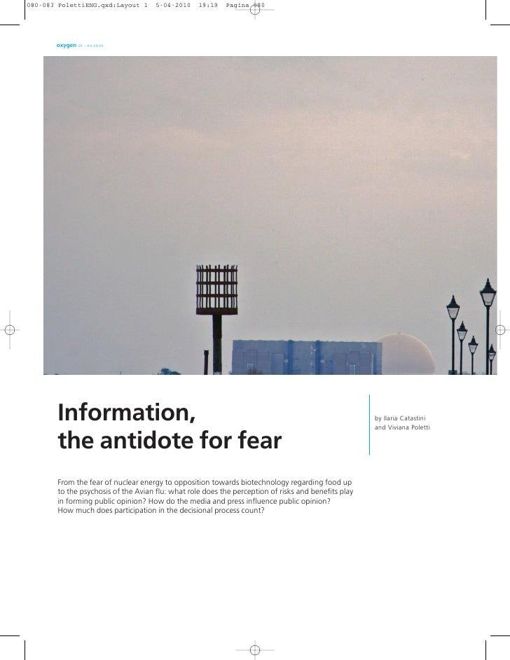 oxygen 09 – 04.2010     Information,                                                                                  by I...