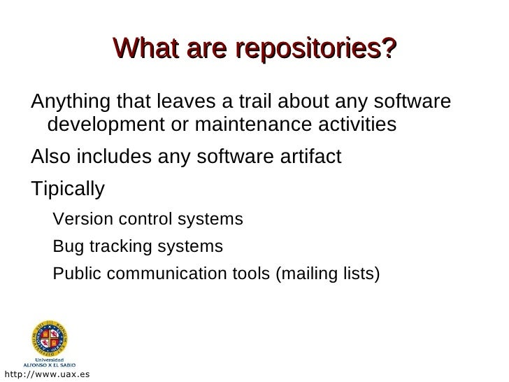 Mining Software Repositories Tools