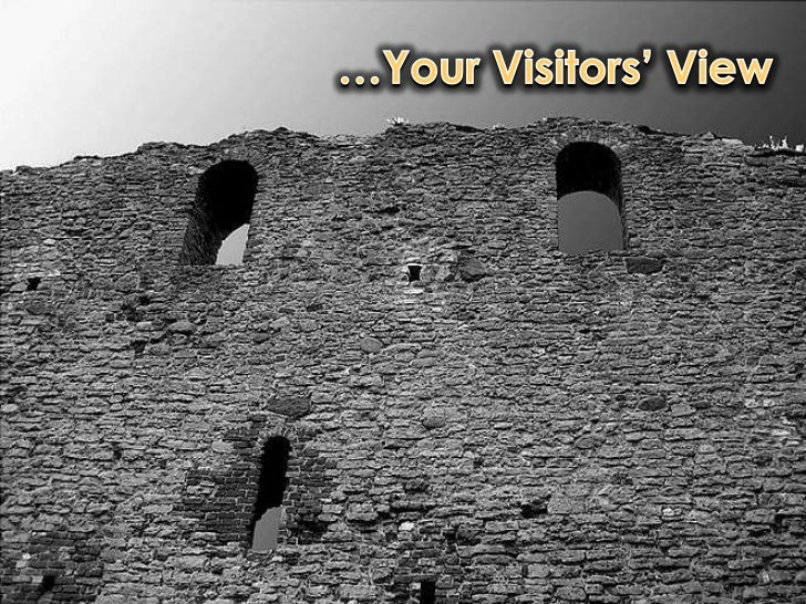 …Your Visitors' View<br />