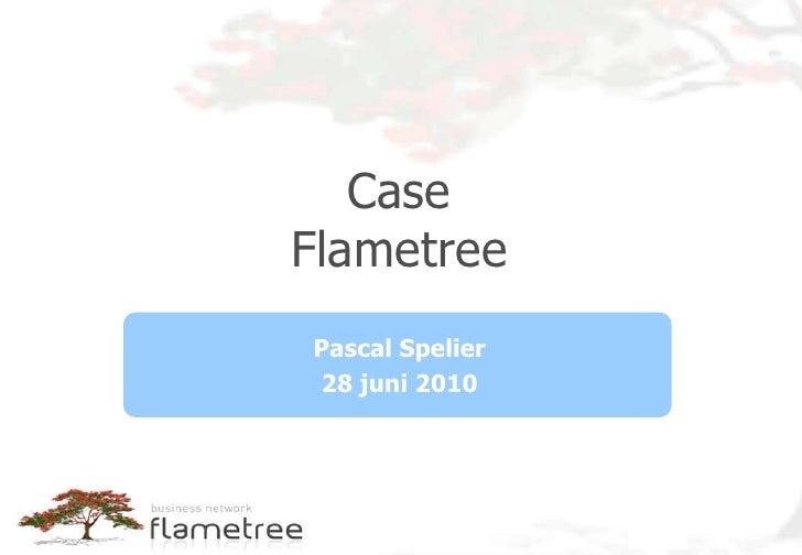 20100628 presentatie case flametree