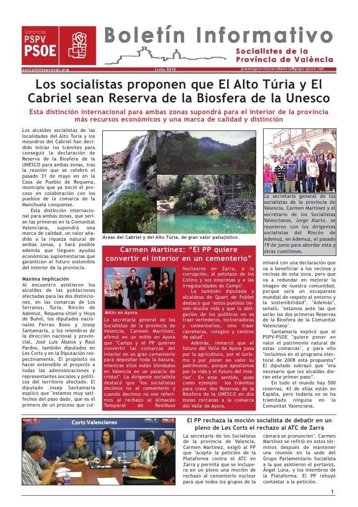 Los socialistas proponen que El Alto Túria y El   Cabriel sean Reserva de la Biosfera de la Unesco    Esta distinción inte...