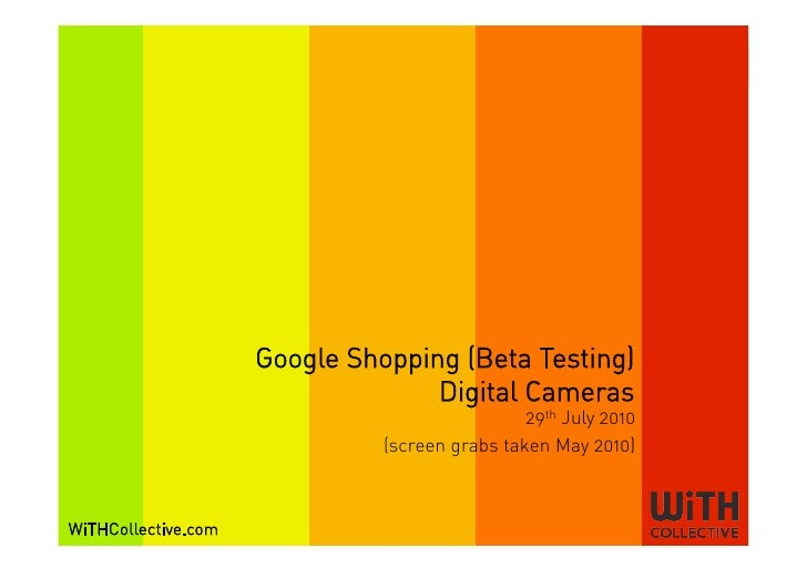 Google Shopping (Beta Testing)                                    Digital Cameras                                         ...