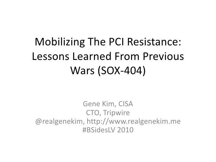 2010 07 BSidesLV Mobilizing The PCI Resistance 1c