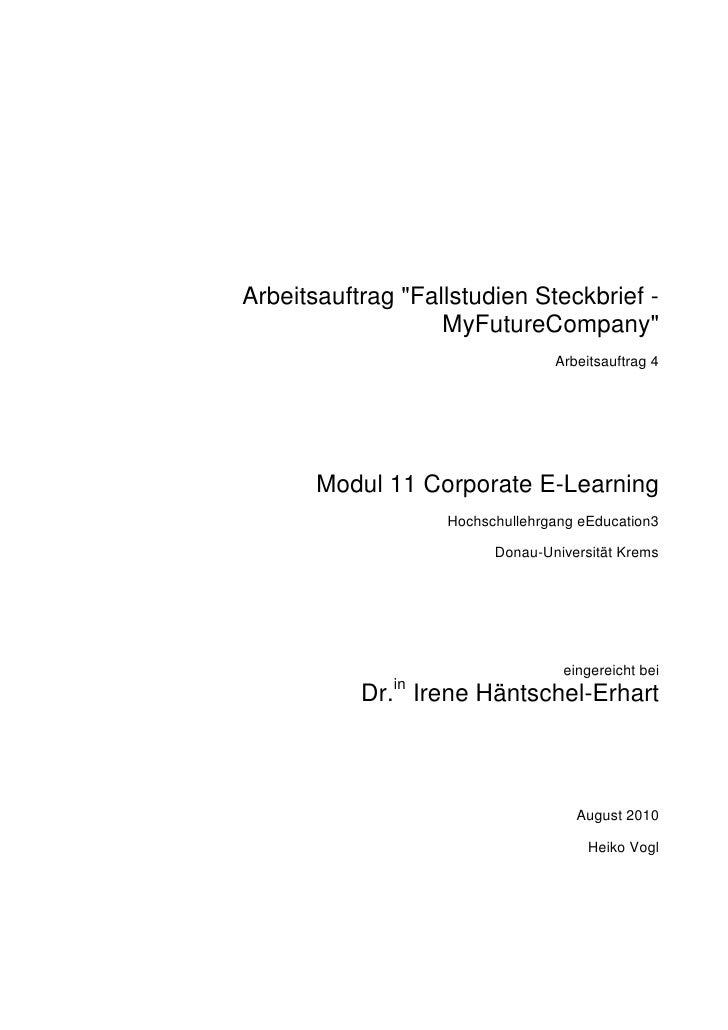 20100816 m11 a1_arbeitsauftrag_fallstudien_steckbrief_my_futurecompany