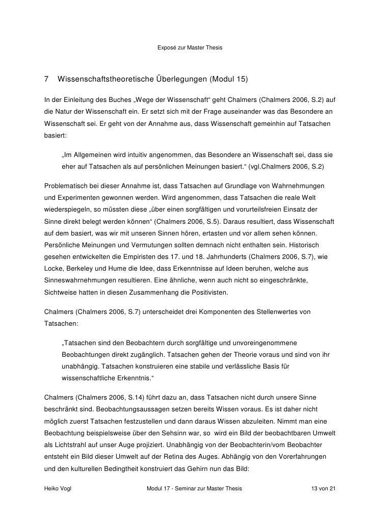 Expose für eine Doktorarbeit (Dissertation) verfassen