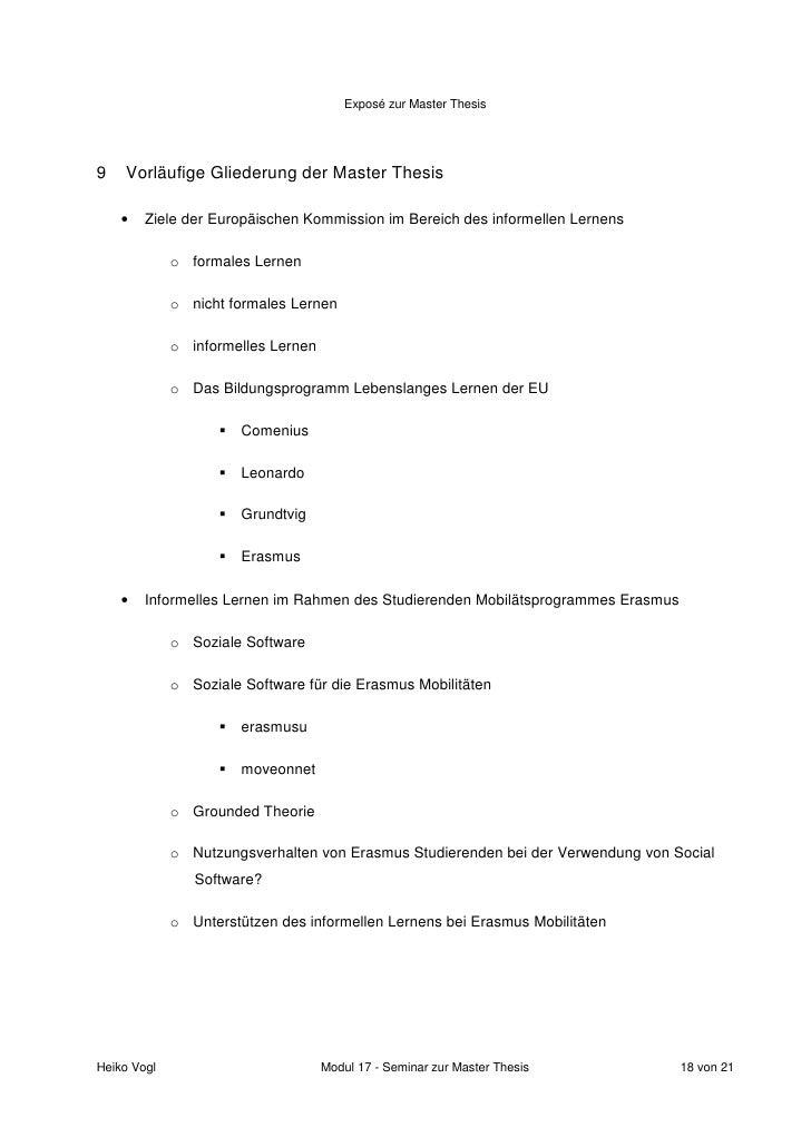 expose dissertation betriebswirtschaft