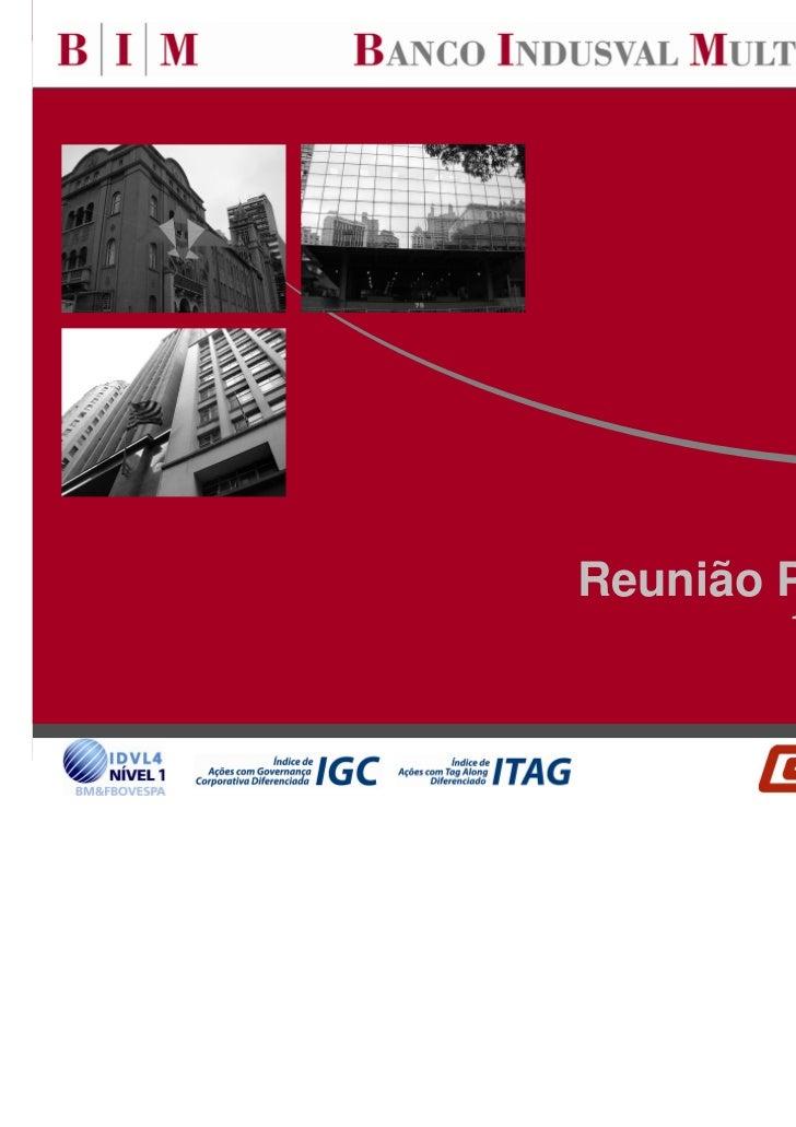 Reunião Pública 2010        19 de Agosto de 2010                          0