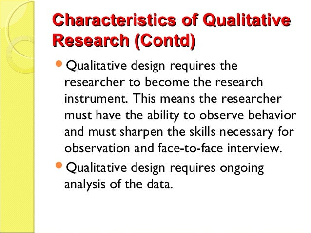 Face-to-face Interviewing | Research Design Review