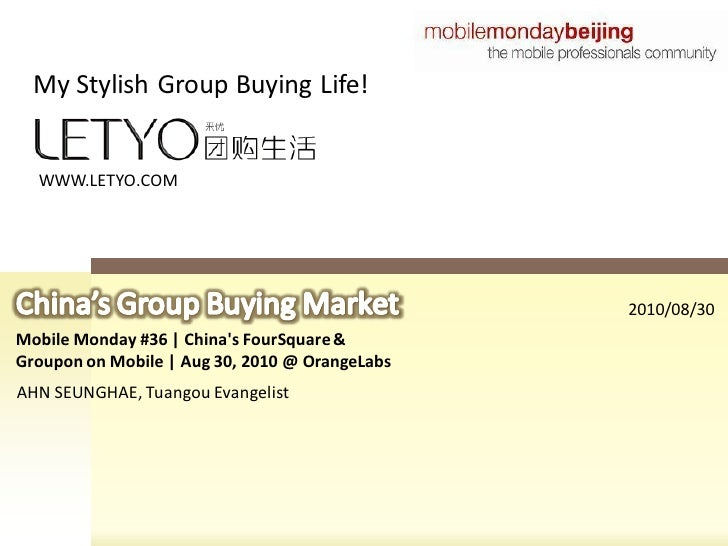My Stylish Group Buying Life!     WWW.LETYO.COM                                                     2010/08/30 Mobile Mond...
