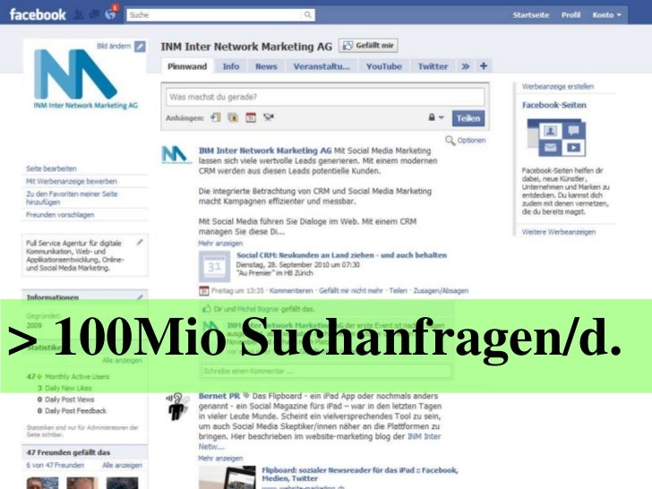 > 100Mio Suchanfragen/d.<br />