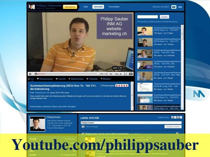 Youtube.com/philippsauber<br />