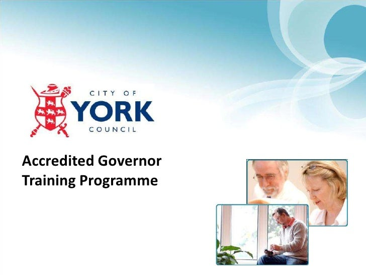 Accredited Governor Training Programme<br />