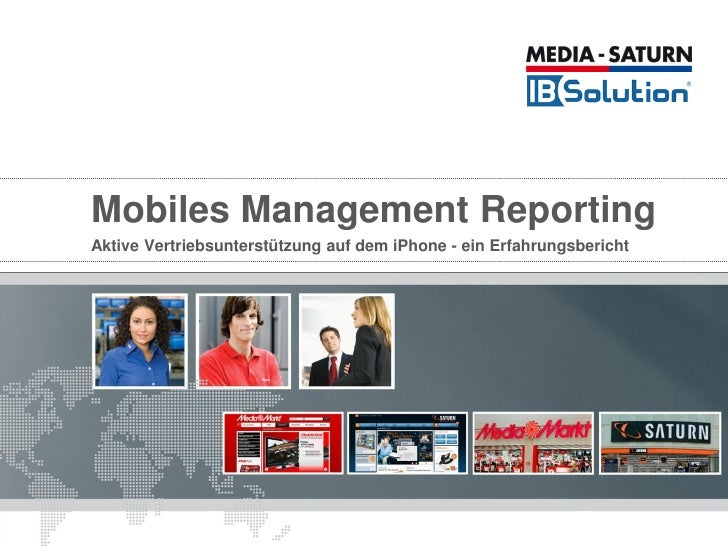 Mobiles Management Reporting