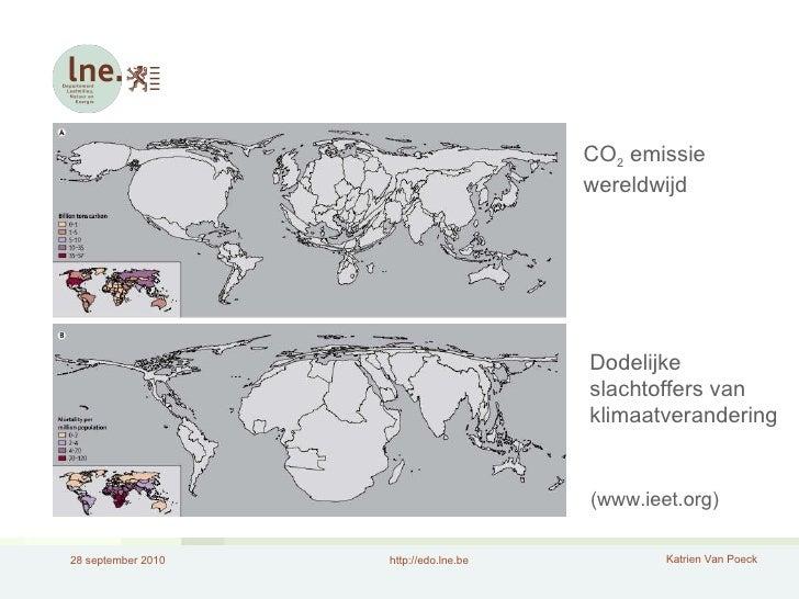 (www.ieet.org) CO 2  emissie wereldwijd Dodelijke slachtoffers van klimaatverandering