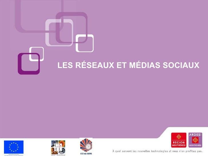 Réseaux sociaux CCI Gers