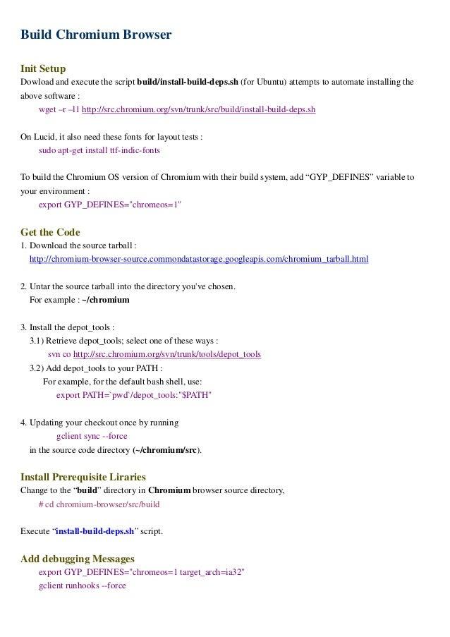 Study of Chromium OS