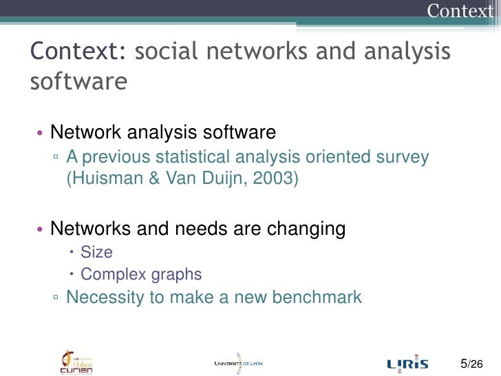 social networks analysis software