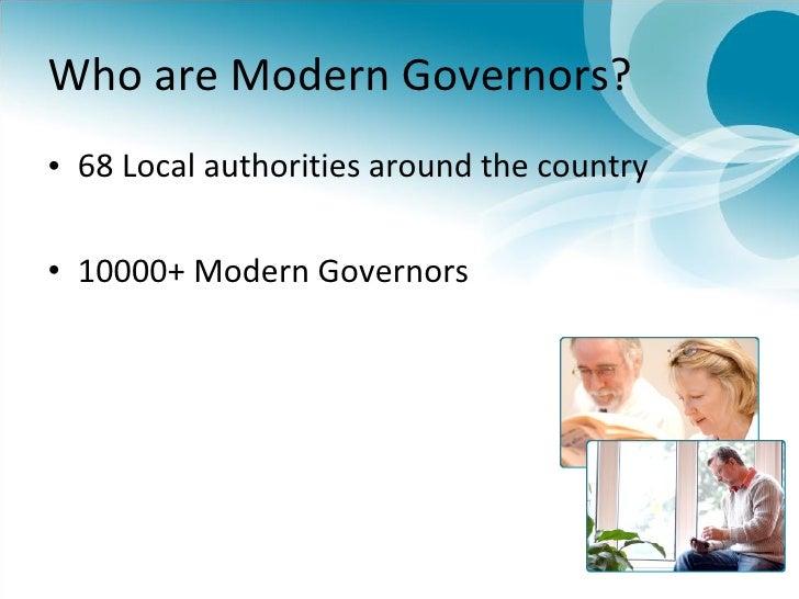 Modern Governor in Ealing Slide 3