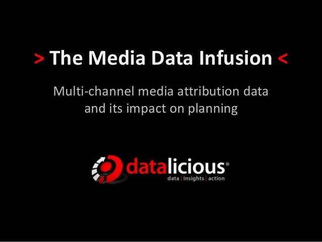 > The Media Data Infusion < Multi-channel media attribution data and its impact on planning