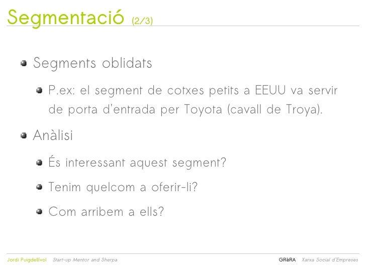 Segmentació                                       (2/3)           Segments oblidats                     P.ex: el segment d...