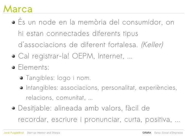 Marca            És un node en la memòria del consumidor, on            hi estan connectades diferents tipus            da...