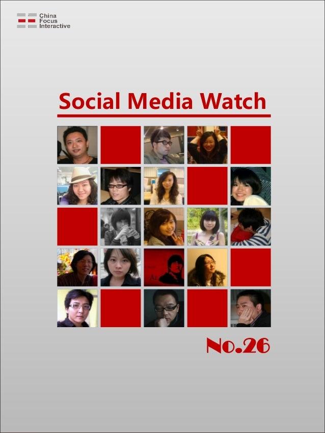 Social Media Watch No.26