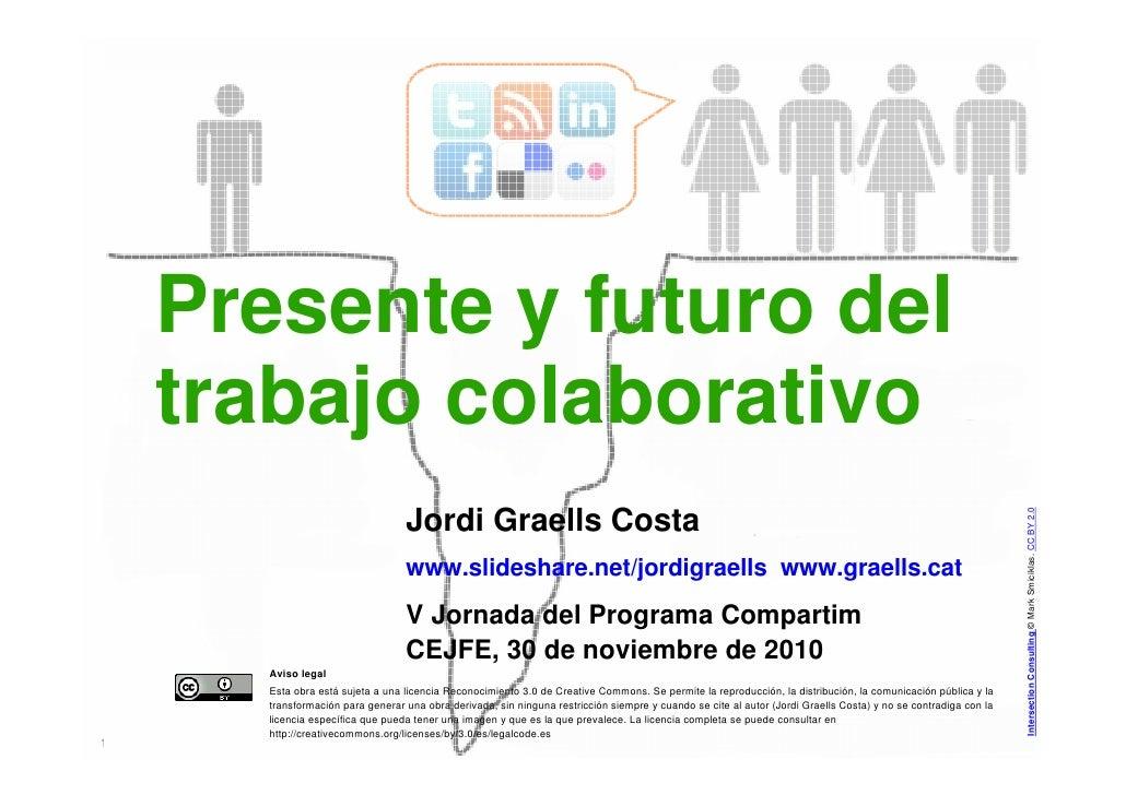 Presente y futuro del    trabajo colaborativo                                                                             ...