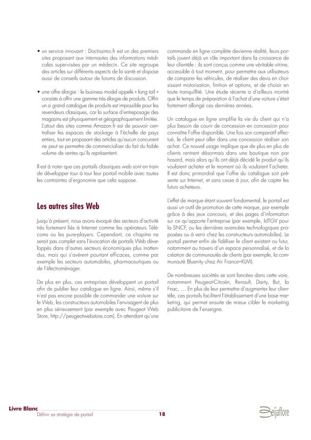 • un service innovant : Doctissimo.fr est un des premiers sites proposant aux internautes des informations médi- cales sup...