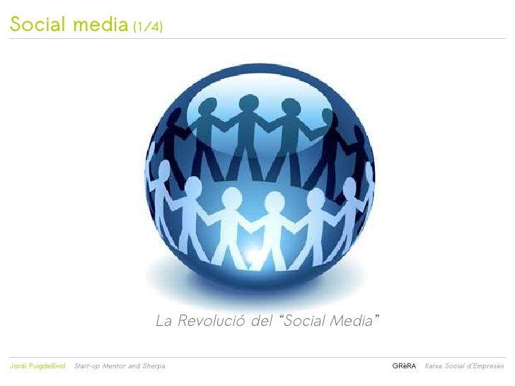 """Social media (1/4)                                            La Revolució del """"Social Media""""                            ..."""