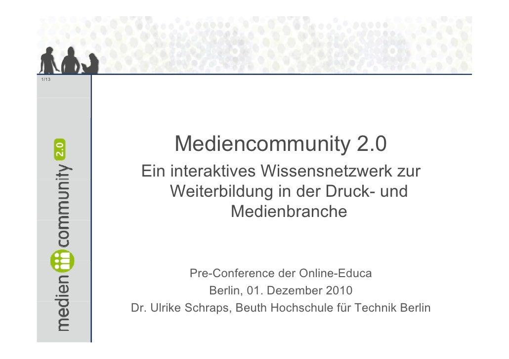 Mediencommunity_Preconference_Online-Educa_Schraps