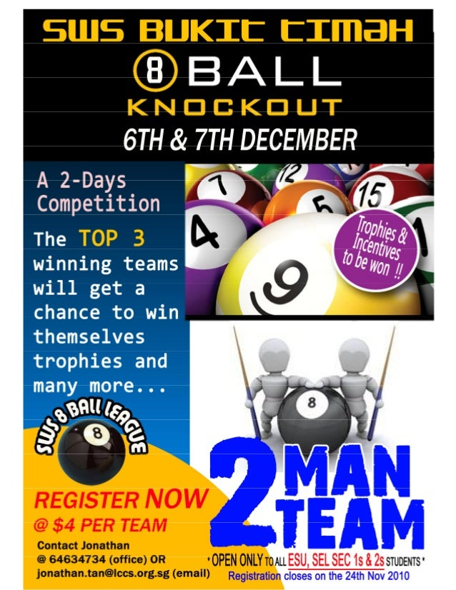 SWS Bukit Timah 8 Ball Knockout