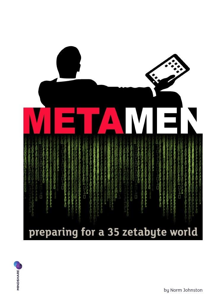 Informe Anual Mindshare -  MetaMen