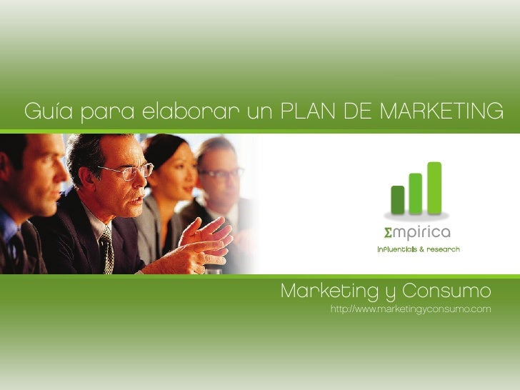 Guía para elaborar un PLAN DE MARKETING                                  Σmpirica                                 influent...