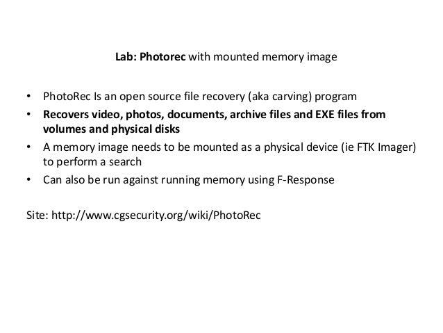 Memoryze / AuditViewer