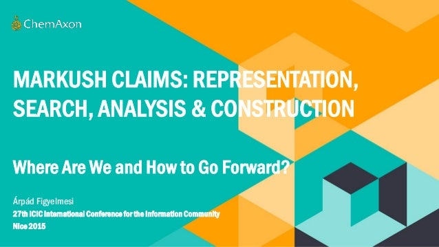 Markush claims representation search analysis and construction w - Contractor how to find one ...