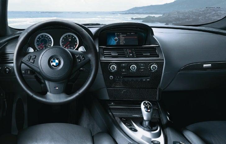 M6 Coupe Interior 34 | 35 ...