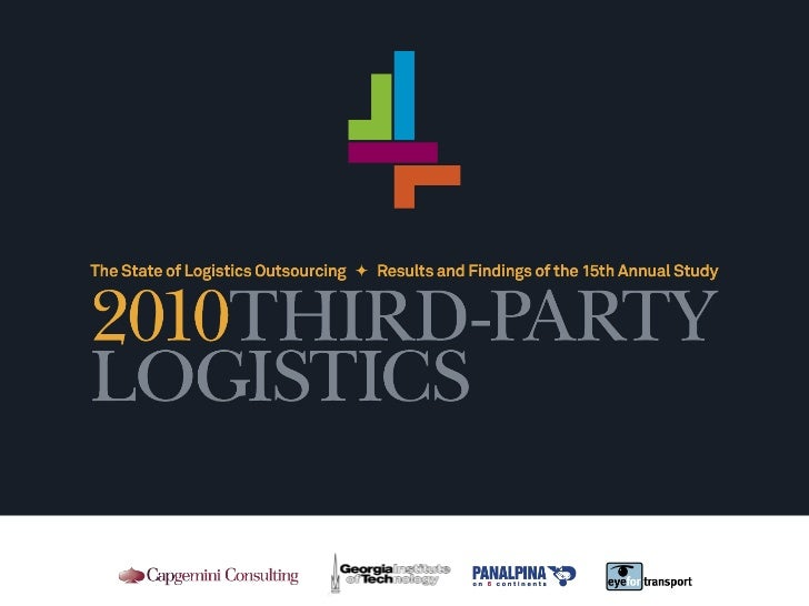 2010 Third-Party Logistics: Results and Findings of the 15th Annual Study Slide 1