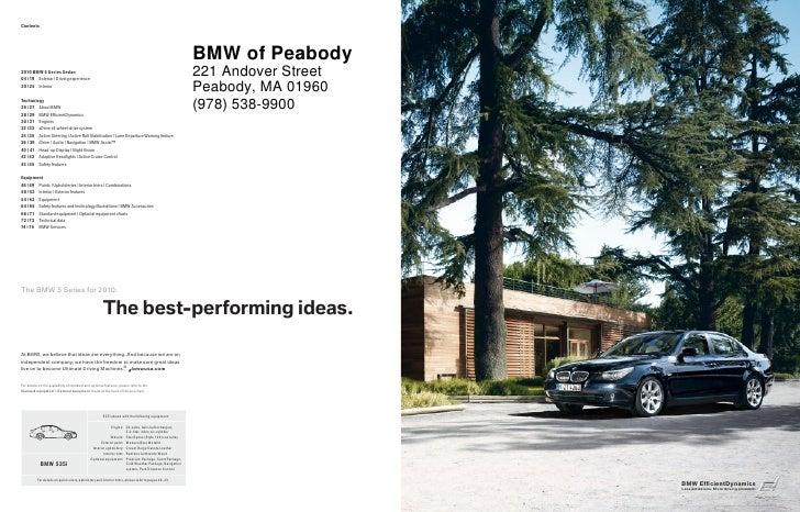 2010 BMW 535i Boston Slide 2